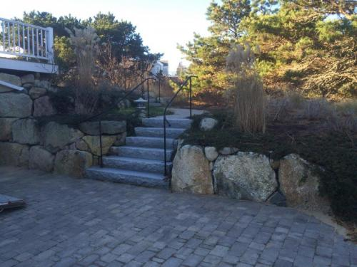 Stonework - Patio, Stairs, Boulder Wall